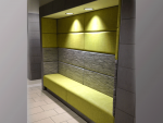 Alcove Seating (In-between Walls/Straight or Curved)