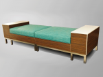 Modular Backless Bench w/ Tables
