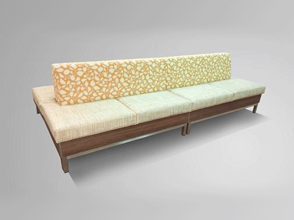 Double Sided Modular Bench Bellis Cubecart